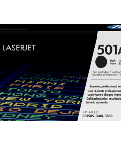 HP 501A Black Original LaserJet Toner