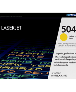 HP 504A Yellow Original LaserJet Toner