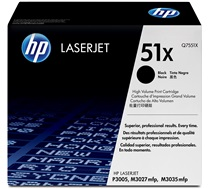 HP 51X (Q7551X) Black High Yield Original LaserJet Toner