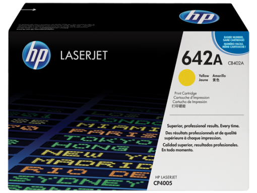 HP 642A Yellow Original LaserJet Toner