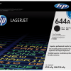 HP 644A Black Original LaserJet Toner Cartridge, Q6460A