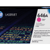HP 646A Magenta Original LaserJet Toner Cartridge, CF033A