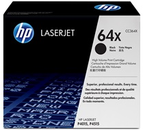 HP 64X (CC364X) Black High Yield Original LaserJet Toner