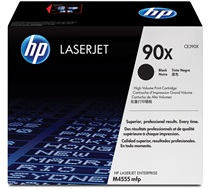 HP 90X (CE390X) Black High Yield Original LaserJet Toner