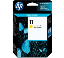 HP 11 Yellow Original Ink Cartridge (C4838A)