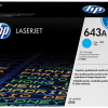 HP 643A Cyan Original LaserJet Toner Cartridge, Q5951A