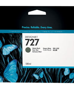 HP 727 130ml Matte Black Ink Cartridge B3P22A