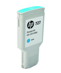 HP 727 300-ml Cyan Ink Cartridge F9J76A