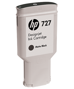 HP 727 300-ml Matte Black Ink Cartridge C1Q12A