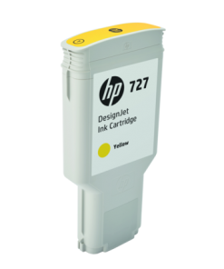 HP 727 300-ml Yellow Ink Cartridge F9J78A
