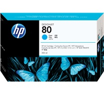HP 80 350-ml Cyan Ink Cartridge C4846A