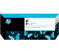HP 81 680-ml Black DesignJet Dye Ink Cartridge