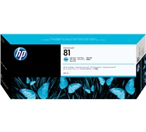 HP 81 Light Cyan Ink Cartridge C4934A