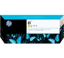 HP 81 Yellow Ink Cartridge C4933A