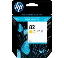 HP 82 28-ml Yellow DesignJet Ink Cartridge