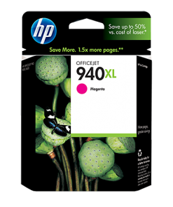 HP 940XL High Yield Magenta Ink Cartridge C4908AN