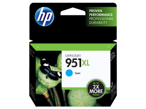 HP 950XL High Yield Cyan Ink Cartridge CN046AN