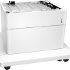 HP Color LaserJet 550-sheet Paper Tray with Stand P1B10A