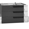 HP LaserJet 3x500-sheet Feeder and Stand CF242A