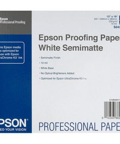 Epson Semimatte Proofing Paper 13inx19in 100-sheets S042118