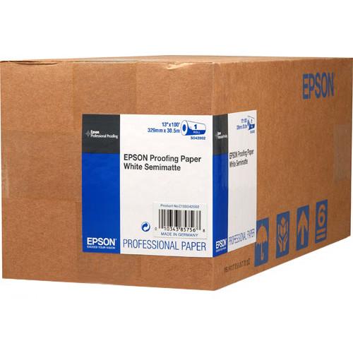 Epson Semimatte Proofing Paper