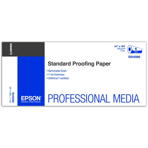 Epson Standard Proofing Paper 205 24″x164′ S045080