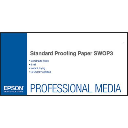Epson Standard Proofing SWOP3 Paper 13inchx19inch 100 sheets S045157