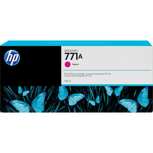 HP 771A 775-ml Magenta Ink Cartridge B6Y17A