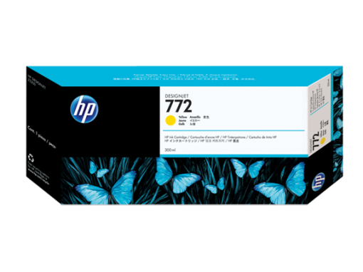 HP 772 300-ml Yellow Ink Cartridge CN630A