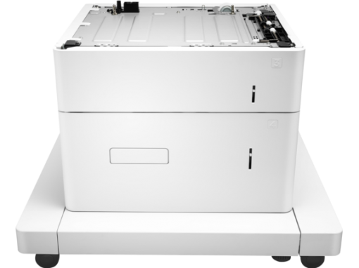 HP LaserJet 1x550-sheet and 2,000-sheet HCI feeder and stand J8J92A