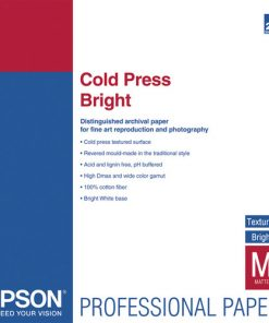Epson Cold Press Bright Paper 13″x19″ S042310