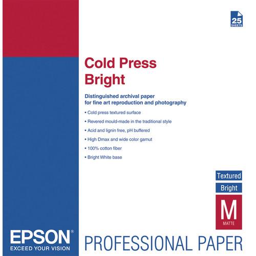 Epson Cold Press Bright Paper 13″x19″ S042310