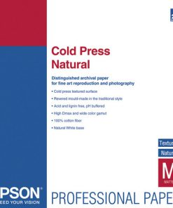Epson Cold Press Natural paper