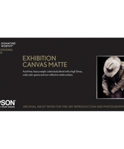 "Epson Exhibition Canvas Matte Paper 17""x22′ S045261"