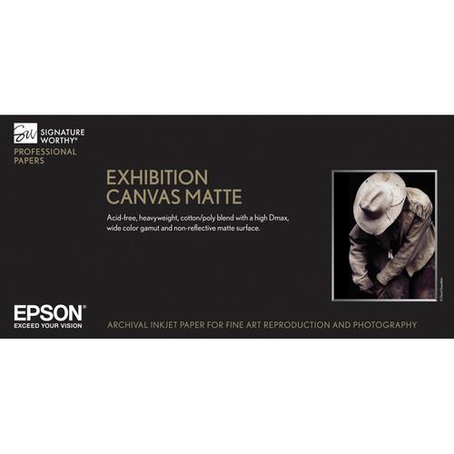 """Epson Exhibition Canvas Matte Paper 17""""x22′ S045261"""