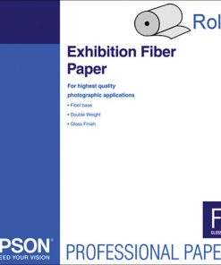 Epson Exhibition Fiber Paper 17″x50' Roll S045188
