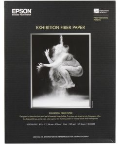 Epson Exhibition Fiber Paper 8.5″x11″ S045033