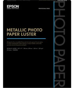 Epson Metallic Luster Photo Paper 8.5inx11in S045596