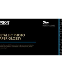 Epson Metallic Photo Paper Glossy 24″x100' S045586