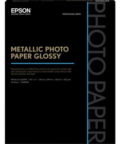 Epson Metallic Photo Paper Glossy 8.5″x11″ S045589