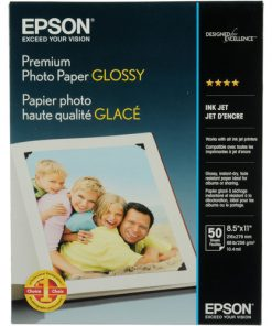 Epson Premium Glossy photo paper 8.5″x11″ S041667