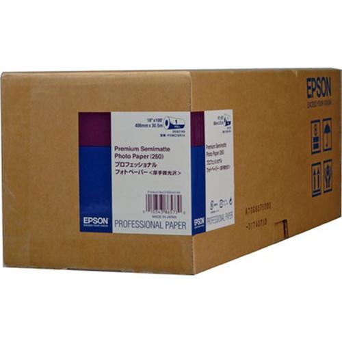 Epson Premium Semimatte Photo Paper 260 16″x100′ S042149