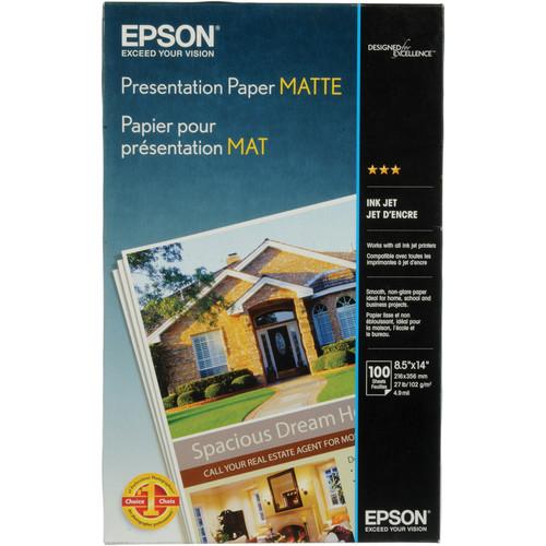 Epson Presentation Matte paper 8.5″x14″ S041067