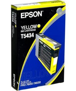Epson T5434 Yellow UltraChrome Ink Cartridge
