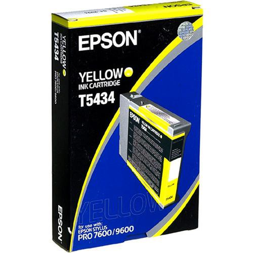 Epson T5434 Yellow UltraChrome Ink Cartridge