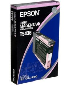 Epson T5436 Light Magenta UltraChrome Ink Cartridge