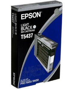 Epson T5437 Light Black UltraChrome Ink Cartridge
