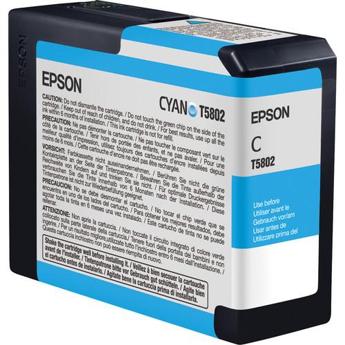 Epson T580200 Cyan UltraChrome K3 Ink Cartridge