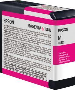 Epson T580300 Magenta UltraChrome K3 Ink Cartridge