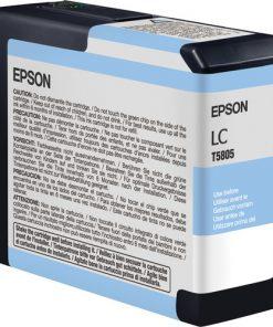 Epson T580500 Light Cyan UltraChrome K3 Ink Cartridge